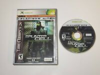 Xbox Tom Clancy's Splinter Cell : Stealth Action Redefined, Platinum Hits