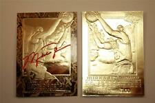 MICHAEL JORDAN 1996-97 Skybox EX-2000 Credentials Gold Card Sculpted GOLD BORDER