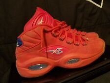 REEBOK IVERSON QUESTIONS Size. 10 PACKER - FREE SHIPPING !