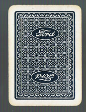 Playing Swap Cards 1 VINT WIDE ADVT FOR    FORD MOTOR CO  MOTOR RELATED  W33