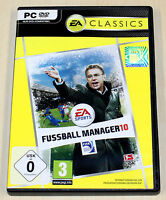 FIFA FUSSBALL MANAGER 10 - PC SPIEL - EA SPORTS 2010