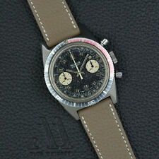 BULOVA 666 FEET TOPICAL Chronograph vintage handwound Valjoux 7733 38mm Steel