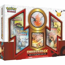 CHARIZARD EX Red and Blue Collection Box Pokemon TCG Generations 20 Anniversary