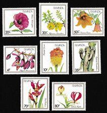 Flowers Rwandan Stamps