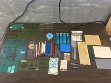 Huge Lot Vintage Drafting Supplies Architect Tools Electrical Berol Pickett