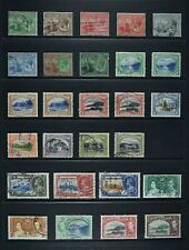 TRINIDAD & TOBAGO, KGV - QEII, a collection of 51 stamps, MM & used condition.