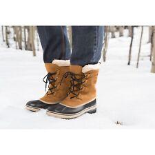 SOREL Mens CARIBOU Buff Boots - uk 9.5 - eu 43.5 -