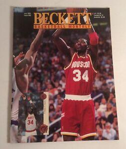 Beckett BasketBall Monthly July 1995 #69 Hakeem Olajuwon Cover