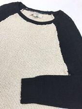 ANN TAYLOR LOFT Petites Linen Cotton Pullover Sweater Women's Size M NEW