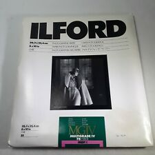 Ilford Multigrade IV FB Fiber 8x10 Photographic Paper 25 Sheet (Glossy)