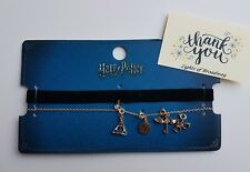 Harry Potter Choker Necklace with Charms Primark BNWT