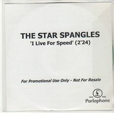 (ED332) The Star Spangles, I Live For Speed - DJ CD