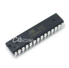 2PCS ATMEGA8A-PU ATMEGA8A DIP-28 MCU AVR 8K FLASH 16MHZ CHIP IC