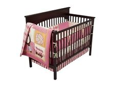 NEW COCO AND COMPANY COCALO  PLAY DATE SPORTS GIRLS 7 PIECE CRIB BEDDING SET