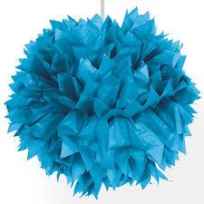 Pompom Papier blau 30 Cm 1 Stk.