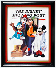 LE Litho on porcelain tile - Barbershop Quartet  - The Disney Evening Post