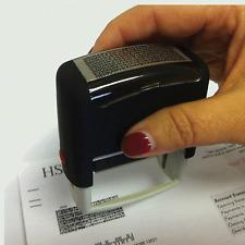 Práctico borrarla seguridad Id Protector de robo de identidad protección Sello
