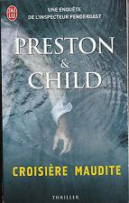 Livre Poche croisière maudite Preston & Child  book