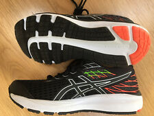 Black Girls Boys Asics  Trainers Size 3 Worn Once