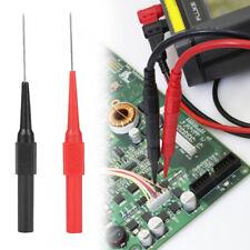 Red / Black Insulation Piercing Needle Non-destructive Test Probes Tool 2Pcs/Set