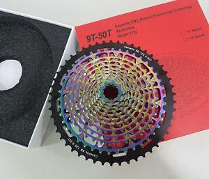 Sunshine MTB 12-Speed XD Freewheel CNC Cassette 9-50T -For SRAM XD -Multi-Colour