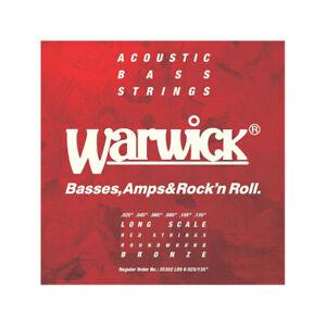 Warwick 35302-LS6 - Jeu de 6 cordes basse acoustique - 25-135
