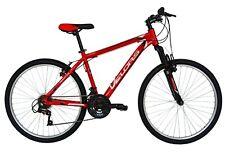 """VELORS Bicicletas MTB-HT 26"""",  montañacuadro de aluminio, 18 velocidades rojo"""