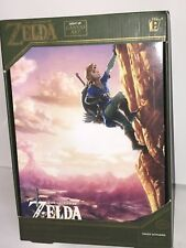 "Zelda Luminart Breath Of The wild Canvas Wall Light Up Art 8"" X 12"""