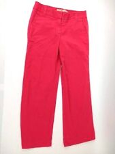 J Crew Women's Chino Favorite Fit Broken-In Classic Twill Pink Jeans Size 8R