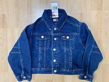 Tommy Hilfiger Girl's Blue Denim Jean Jacket Size 4 NWT
