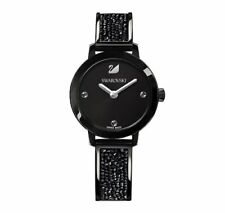 Swarovski Cosmic Rock Watch, Metal bracelet, Black Crystal Authentic MIB 5376071