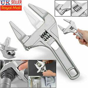 Adjustable Large Spanner Wrench Opening Bathroom Nut Key DIY Hand Tool 16-68mm