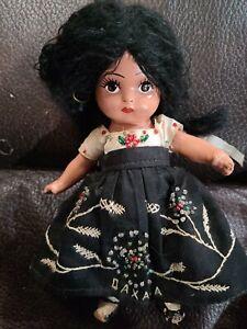 """8"""" Oaxaca Girl Composition Souvenir Doll from Mexico"""