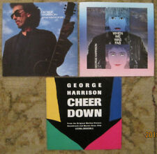 LOT of 3 GEORGE HARRISON - 45rpm Picture Sleeves (only) BEATLES