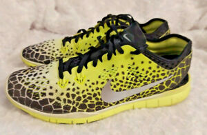 Women's size 9 NIKE FREE TR FIT 5 Yellow/Black athletic shoes