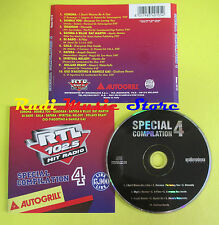 CD RTL 102.5 HIT RADIO SPECIAL COMPILATION 4 1996 CORONA DATURA no lp mc (C13)