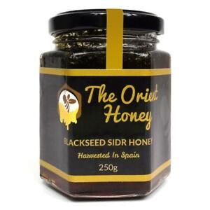 250G Black Seed Sidr Honey Top Quality 100% Authentic Royal Raw The Orient Honey