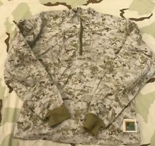 US MARINES FROG COMBAT SHIRT INCLEMENT WEATHER DESERT MARPAT DEFENDER M SZ LR