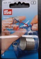 Prym Knitting Thimble Norwegian Metal  up to 2 Yarn Guides