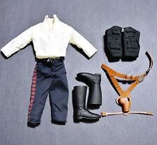 1/6 STAR WARS Han Solo Smuggler Outfit fr 12'' Sideshow Hot Toys Medicom awakens