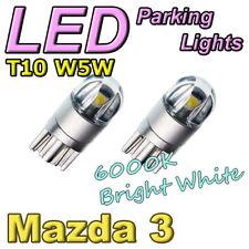 #M14 White LED Parker Parking Light Bulbs for 2013-2018 Mazda 3 (BM BN) W5W T10