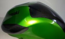 KAWASAKI ER6 650 05 > 08 de Fibra de Carbono Protector de tanque tanque de combustible Deslizadores &