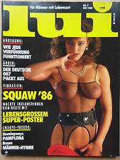 Lui ( D) 5/1986,  Squaw '86, Uli Hiemer, Marti Jones, Covergirl Marina Baker