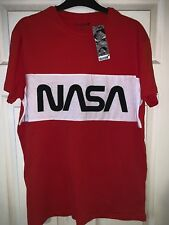 NASA Primark Buzz Aldrin Merch Red T-Shirt Share Space Foundation BNWT L