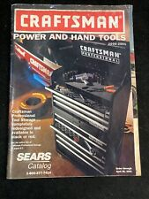 CRAFTSMAN POWER AND HAND TOOLS CATALOG 2000-2001