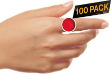 Nylea Disposable Eyelash Extension Tattoo Ink Pigment Medium Makeup Ring -100 pc