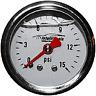 "Fuel Pressure Gauge Intellitronix AFP01 1 1/2"" Liquid Filled 1/8""NPT Free Ship!"