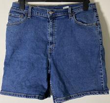 Vintage Levis Womens Denim Shorts Size 14 /W32inch Blue