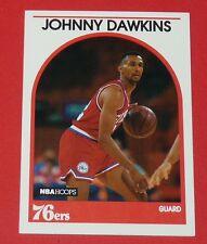 # 311 JOHNNY DAWKINS 76ers PHILADELPHIA 1989 NBA HOOPS BASKETBALL CARD