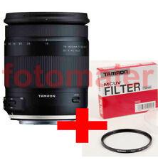 Tamron 18-400 VC Canon ZUBEHÖRPAKET inkl. UV-FILTER EOS EF-S EF 800D 80D 750D 7D